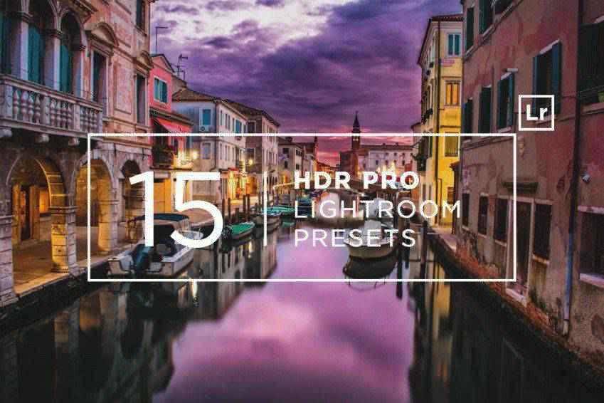 15 HDR Pro Lightroom Presets
