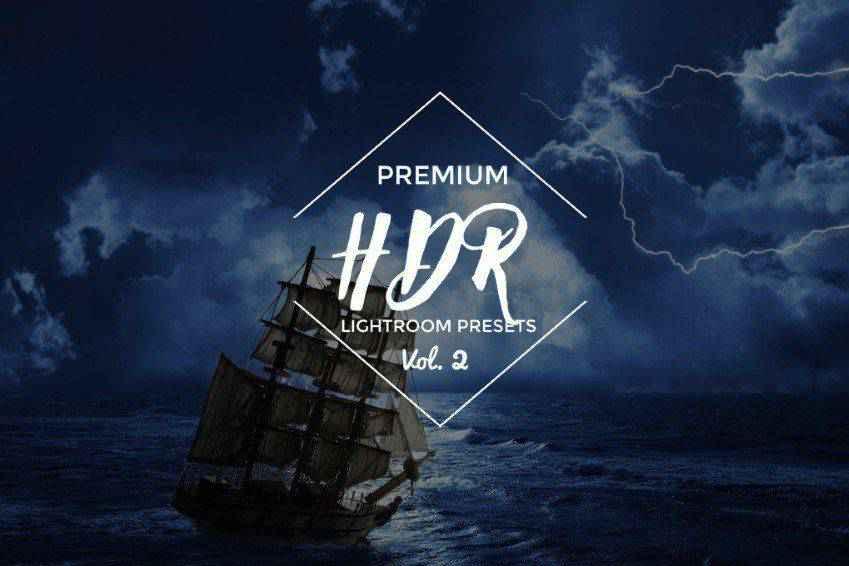 15 HDR Lightroom Presets Vol.2