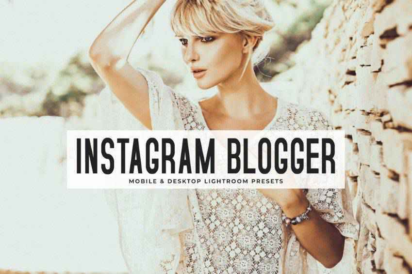Instagram Blogger Lightroom Presets Pack