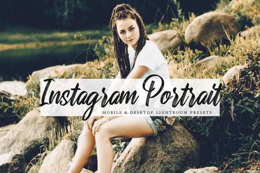Instagram Portrait Lightroom Presets