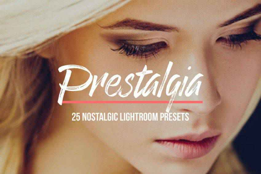 Prestalgia Retro Lightroom Presets