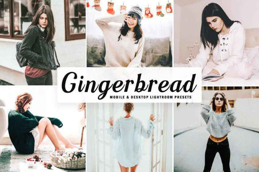 Gingerbread Lightroom Presets