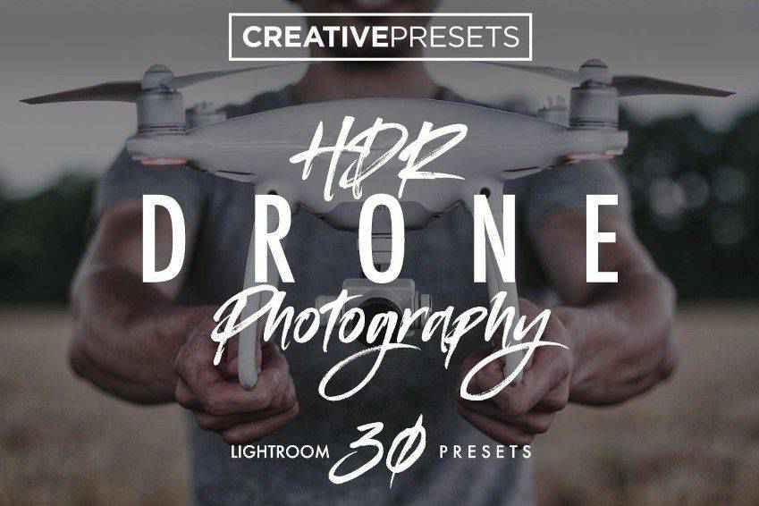 HDR Drone Lightroom Presets