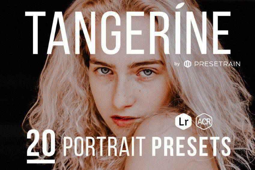 Tangerine Portrait Presets for Lightroom