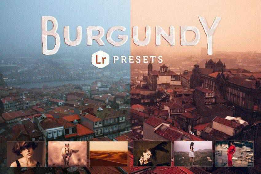 Burgundy Lightroom Presets