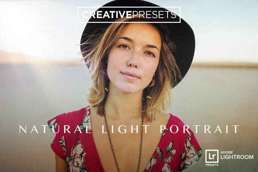 Natural Light Portrait Lightroom Presets