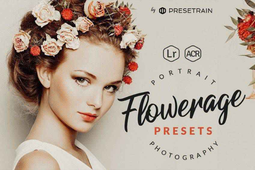 Flowerage Portrait Lightroom Presets