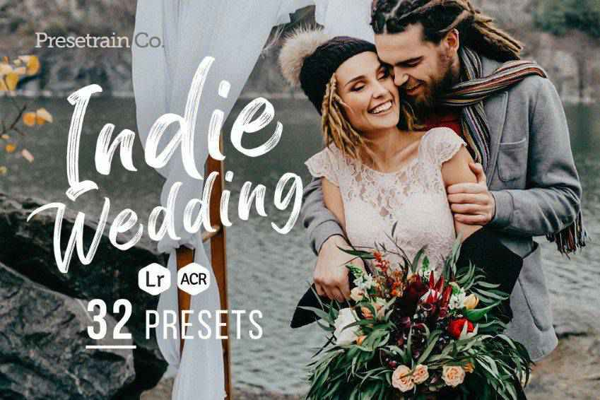 Indie Wedding Lightroom Presets