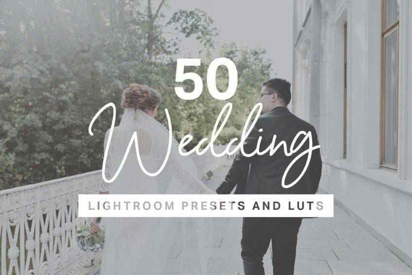 50 Wedding Lightroom Presets