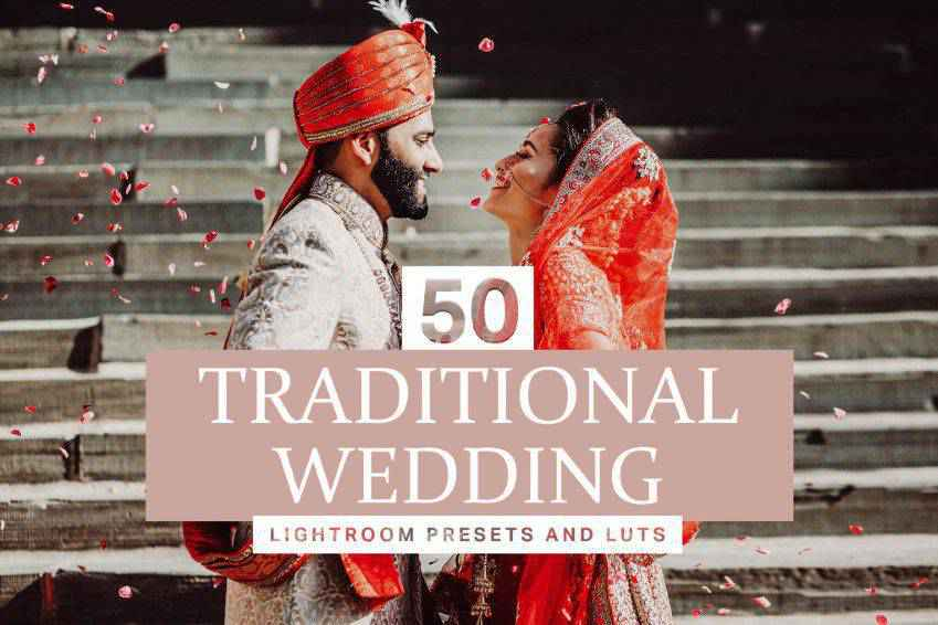 Traditional Wedding Lightroom Presets