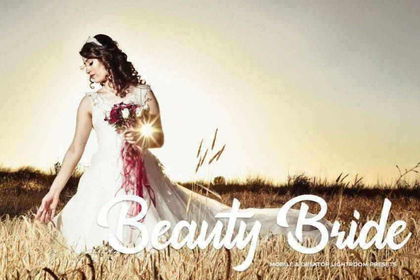 Beauty Bride Lightroom Presets