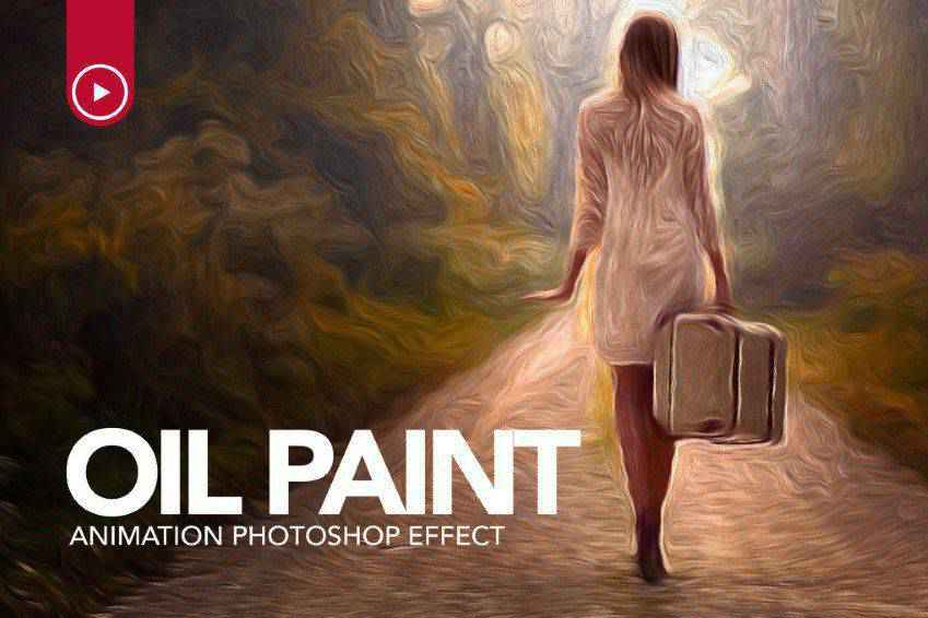 Oil Paint Animation Photoshop Action