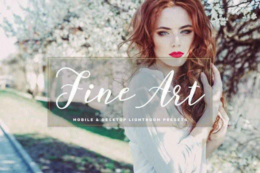 Fine Art Mobile Photoshop Action