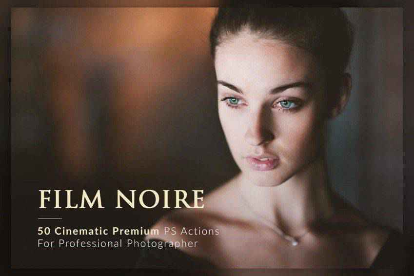 Film Noire Photoshop Actions Bundle