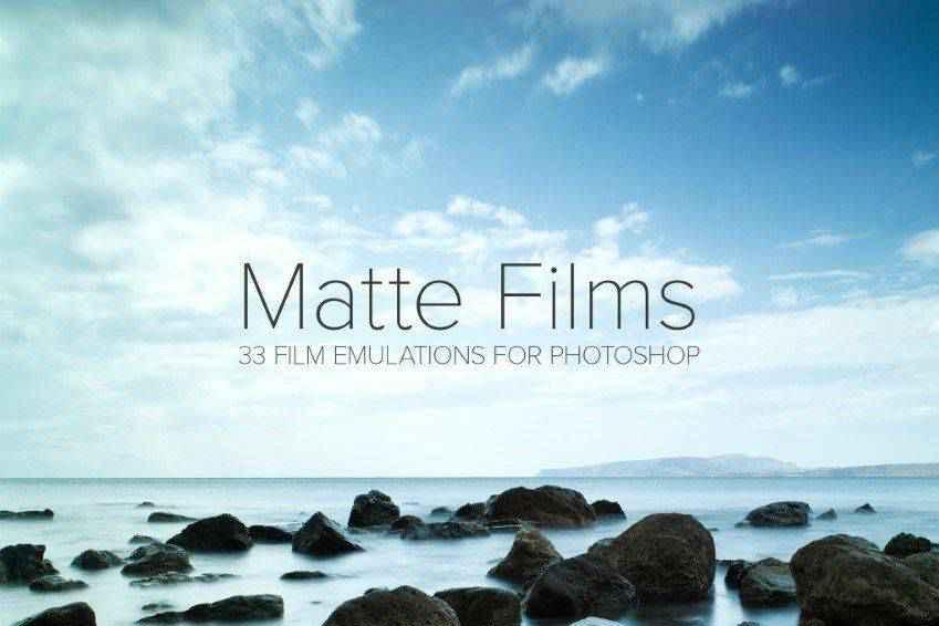 Matte Film Emulation Photoshop Actions