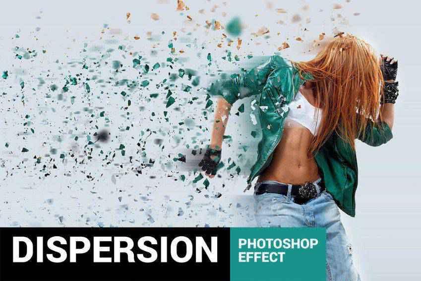 lementum Dispersion Photoshop Actions