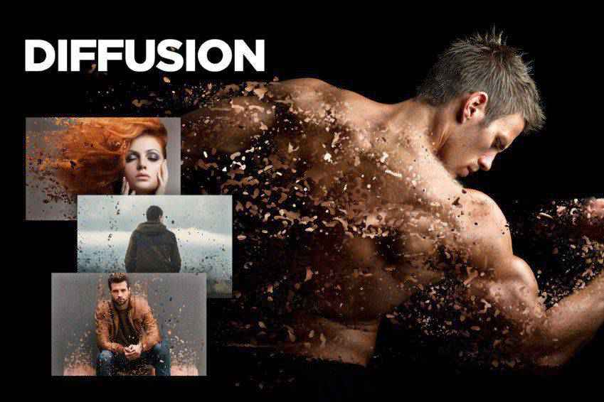 Diffusion Photoshop Action