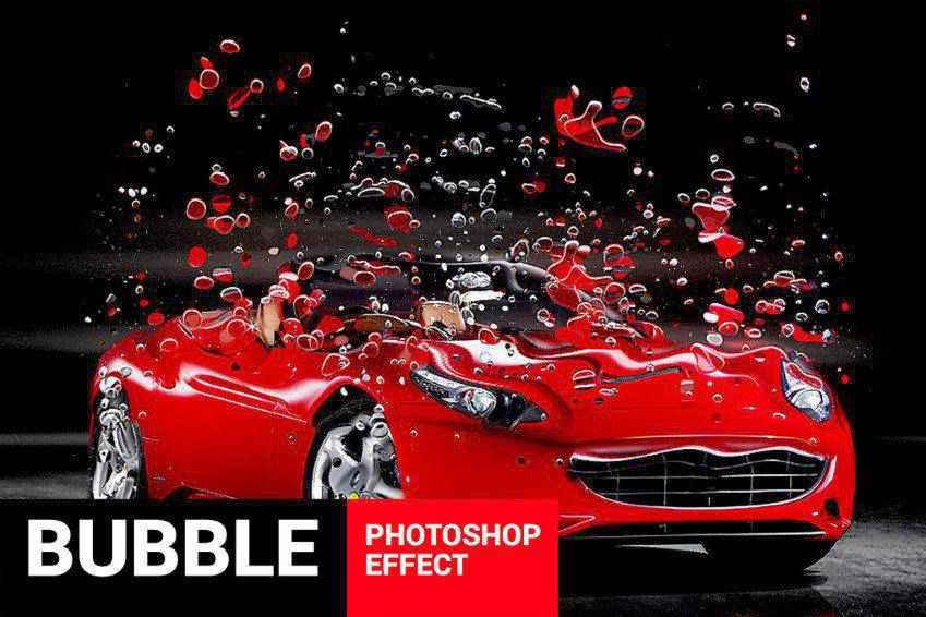 Bubblum Bubble Generator Photoshop Action