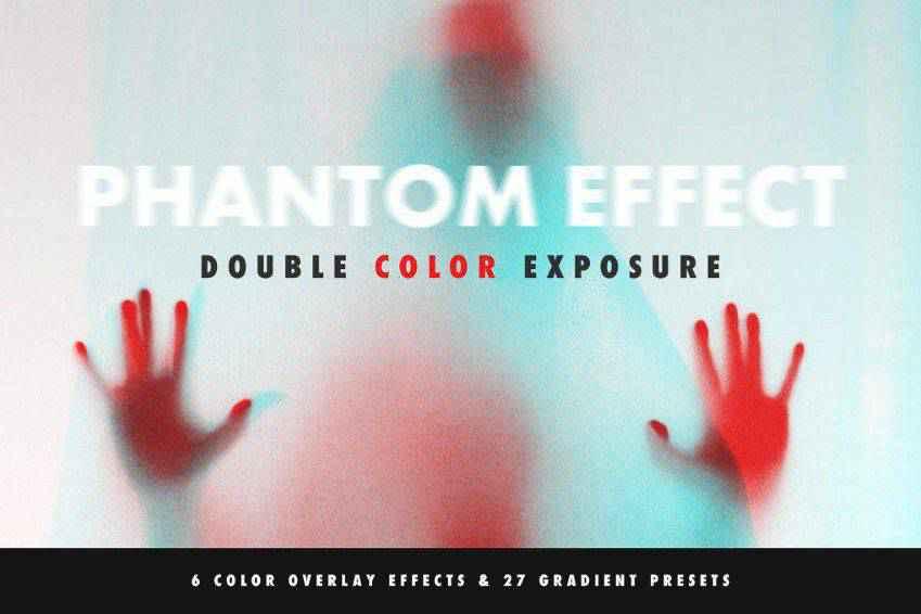 Double Color Exposure Effect Photoshop Action