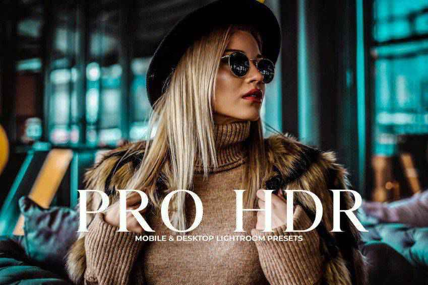 Pro HDR Collection Photoshop Action