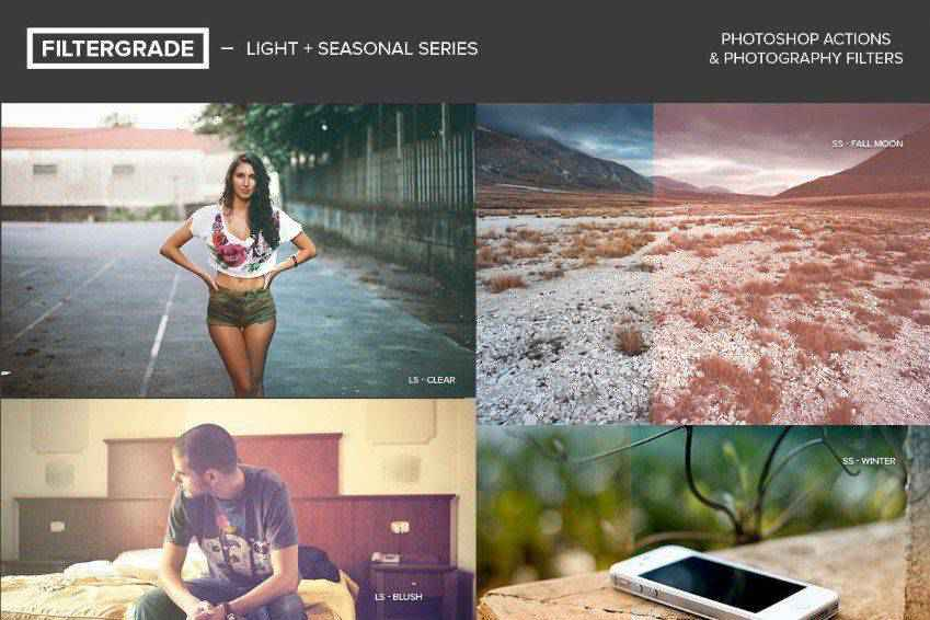 Light Seasonal Photoshop Actions