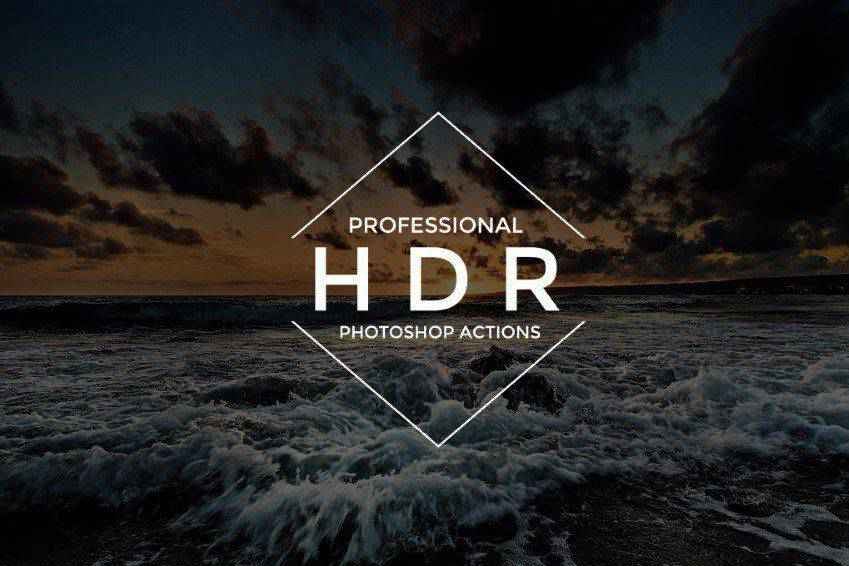18 HDR Photoshop Actions