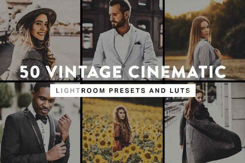 Vintage Cinematic Photoshop Actions