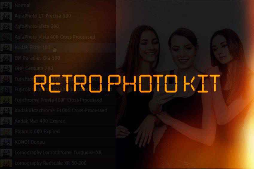 Retro Photo Kit for Photoshop