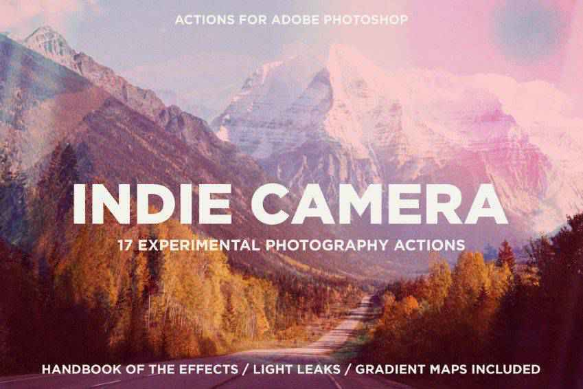 Indie Camera Photoshop Actions
