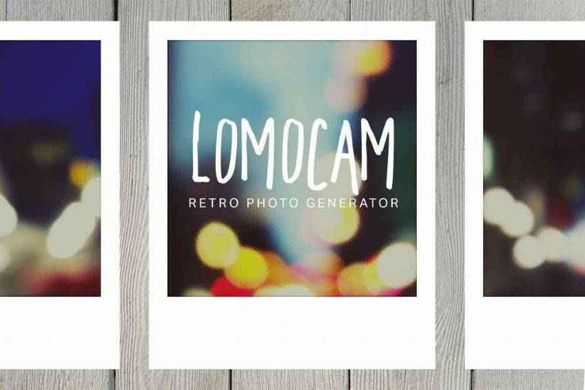 Lomocam Retro Photo Generator