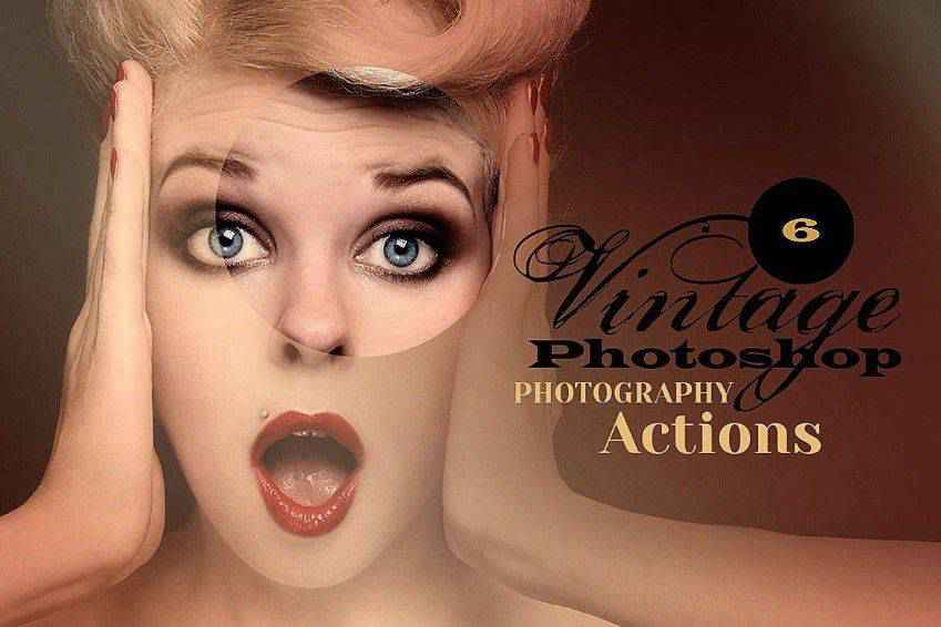 Vintage Photo Effect Actions