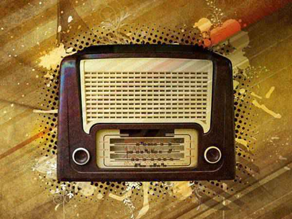 How to Create a Vintage Radio Poster