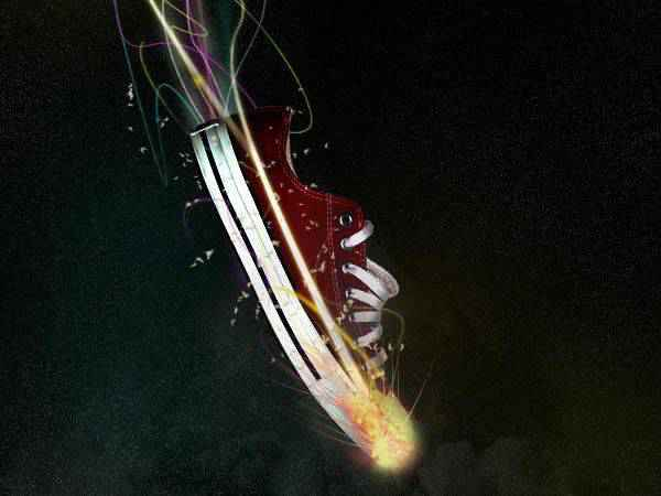 Design a Stunning Sneaker Advert