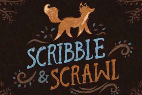 25 Free Scribble, Doodle, Sketch & Hand-Drawn Photoshop Brush Sets
