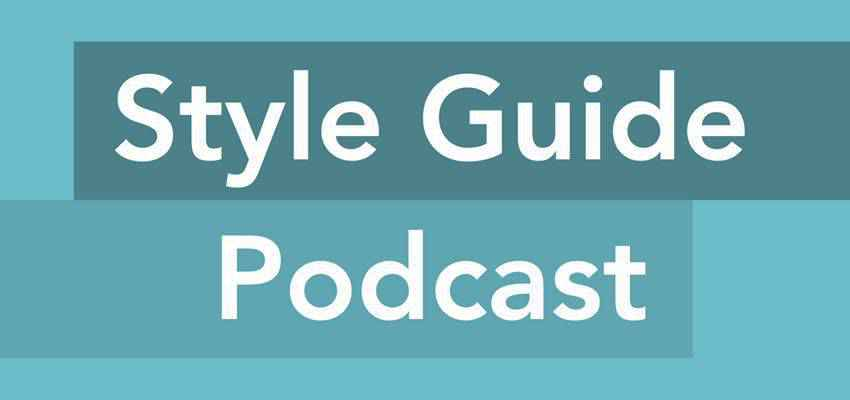 Style Guide web design podcast