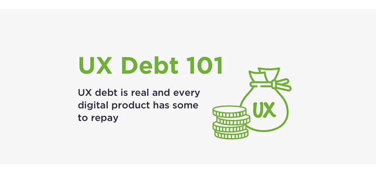 Example from UX debt 101