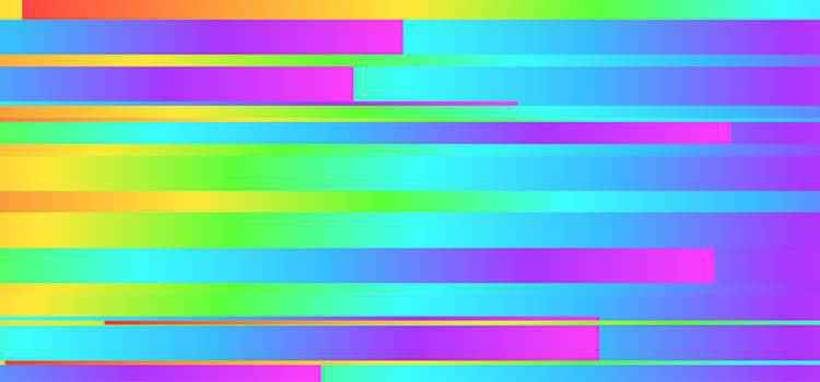 Example from Glitch Art Generator
