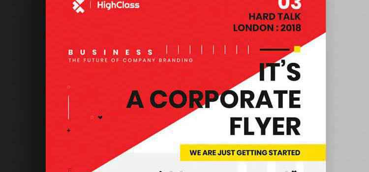 Example from 25 Best Free Corporate Business Flyer Templates