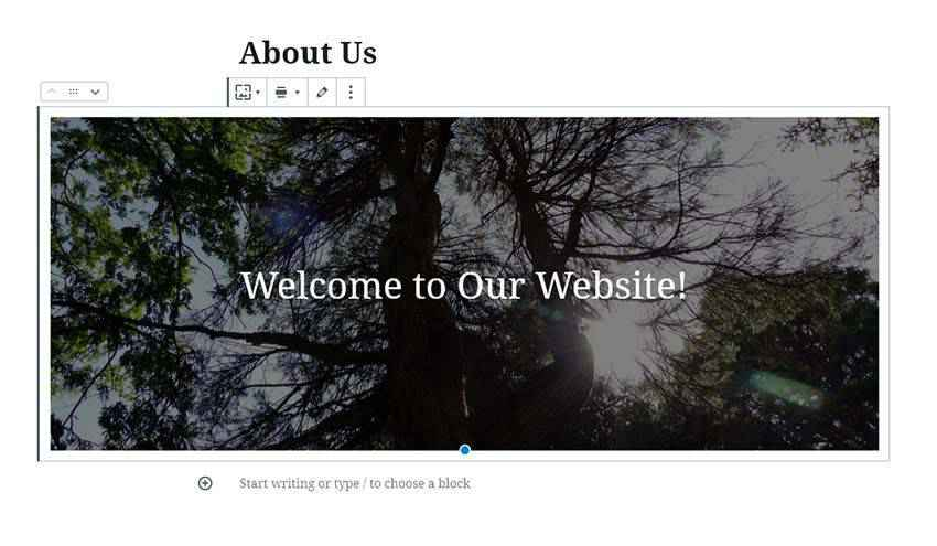 Creating a wide aligned block within WordPress.