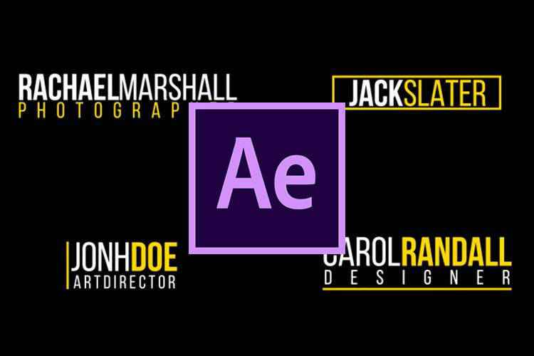 10 Best Lower Thirds Templates for Adobe After Effects for 2021