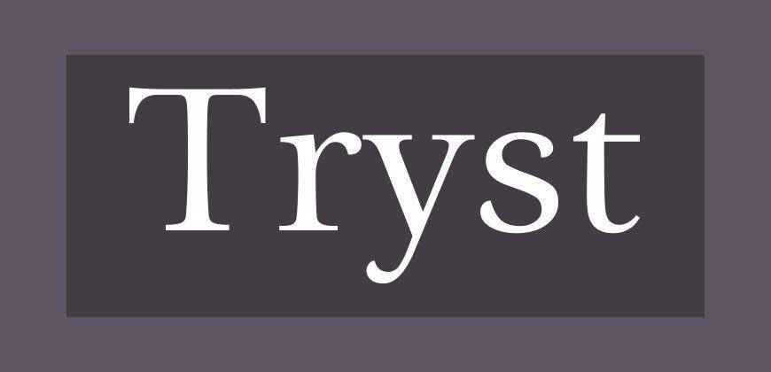 Tryst free clean font typeface