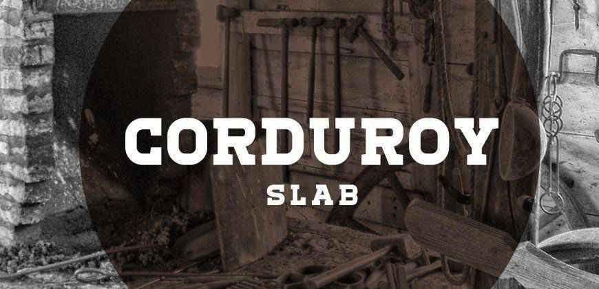 Corduroy Slab free clean font typeface