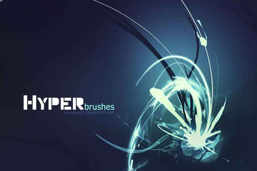 Hyper light streak effect photoshop brushes free