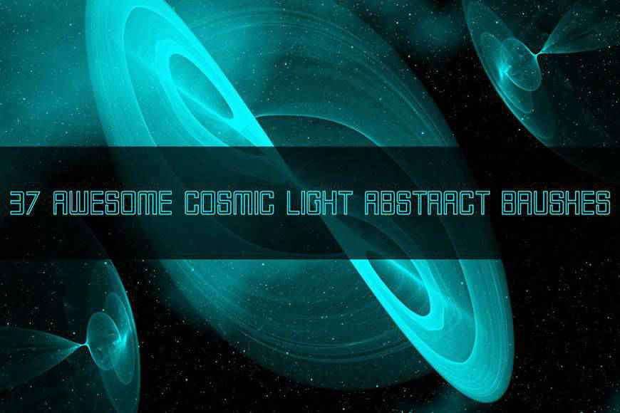 Cosmic Light light streak effect photoshop brushes free