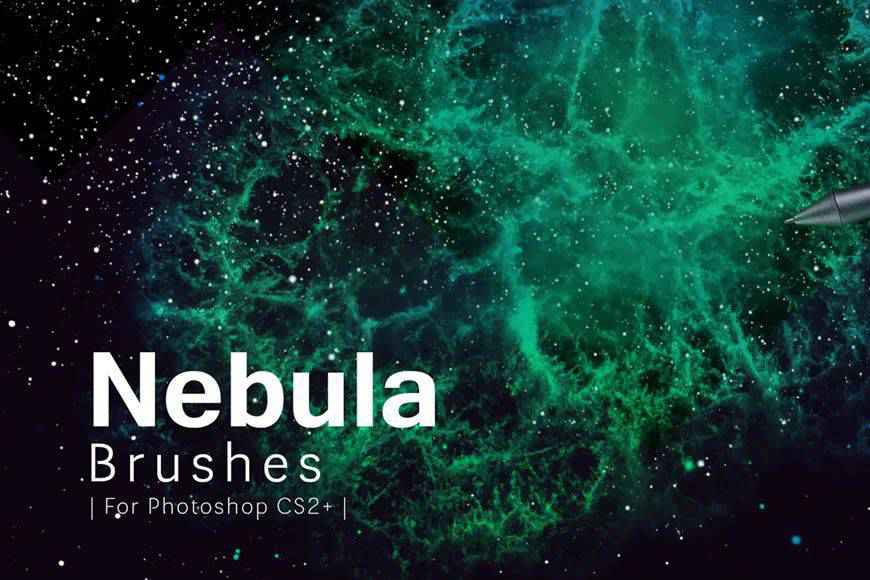 Nebula technology tech industrial photoshop brushes free