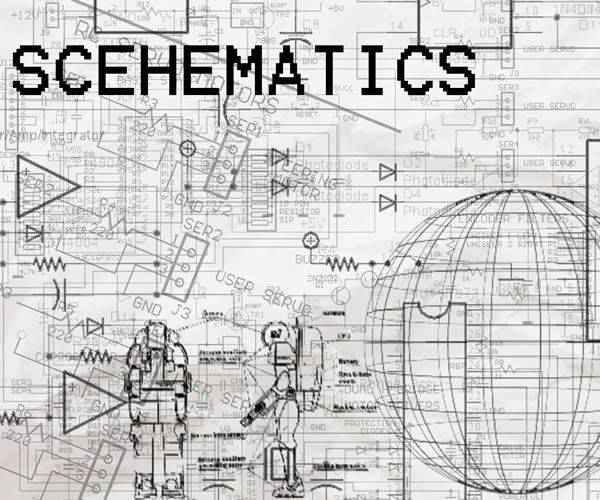Schematics technology tech industrial photoshop brushes free