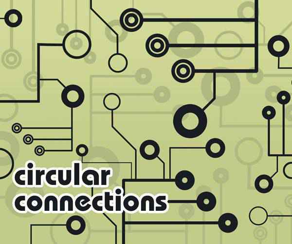 Circular Connections technology tech industrial photoshop brushes free