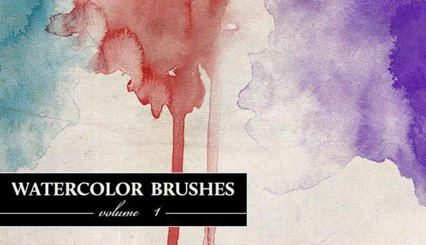 watercolor photoshop brushes free