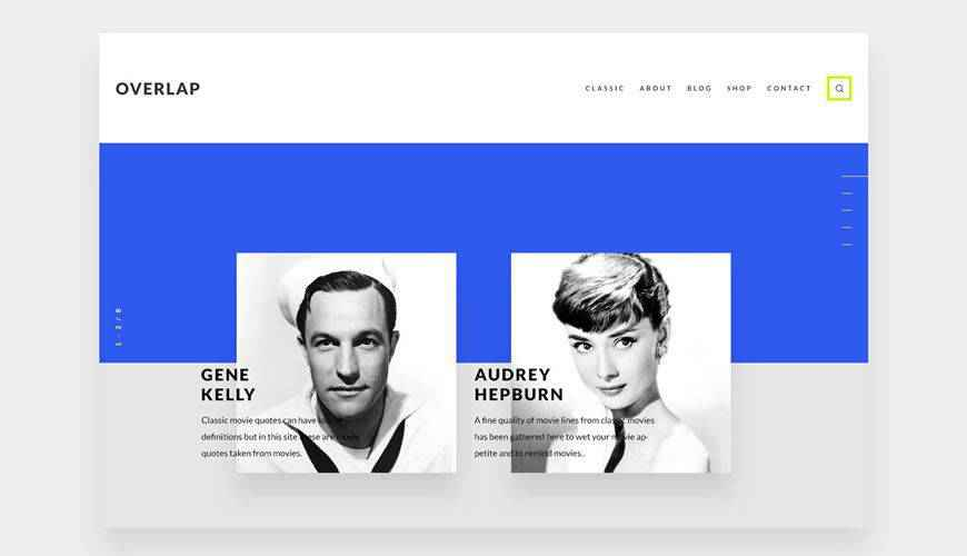 Overlap UI Kit PSD Web Template Adobe Photoshop