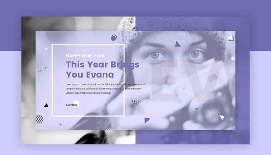 Evana Creative Agency PSD Web Template Adobe Photoshop